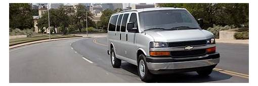 2019 Chevrolet Express Cargo And Passenger Van  Best