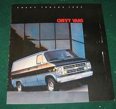 manual repair autos 1994 chevrolet g series g10 navigation system sell 1985 chevy vans dealer sales brochure cargo van g10 g20 g30 16 pgs motorcycle in