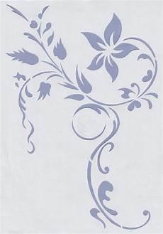 wandschablonen schablone wandtattoo ornament modern in