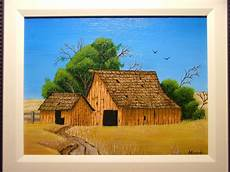 format toile peinture 01 la grange peinture acrylique sur toile encartonn 233 e format 9 quot x 12 quot pour nathalie peinture