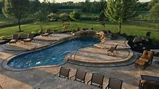 inspiration 40 fiberglass pool by aquaserv pool spa inc