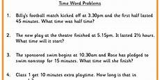 time word problems worksheets year 3 3397 time word problems classroom secrets