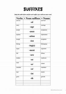 noun suffixes worksheet free esl printable worksheets made by teachers