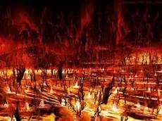 Gambar Gambaran Dahsyatnya Siksa Neraka Gambar Api