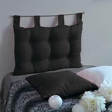 tete de lit noir t 234 te de lit 70 cm etna noir linge de lit eminza