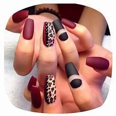 red leopard print nails cheetah nail designs fall nail