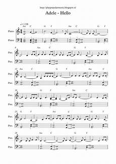 free full piano sheet music adele hello pdf my favourite sentence from the lyrics is did you