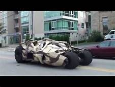 Batmobile&174 Batman Begins/The Dark Knight Rises Filming