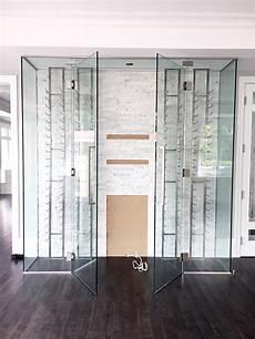 cellier sur mesure vitrerie verre design