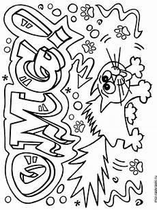 graffiti coloring pages free printable graffiti coloring