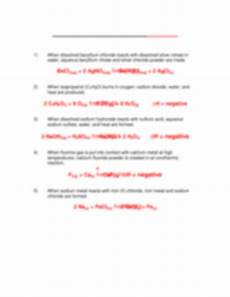writing sentences as equations worksheet 1 answer key 22151 balancing and types of reactions sentences worksheet with key mr buchanan chemistry name date