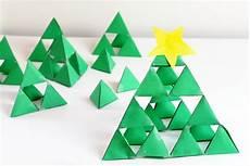 sierpinski fractal triangle holiday math art for kids