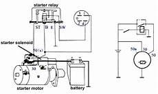 wiring a starter motor relay wallpaperzen org