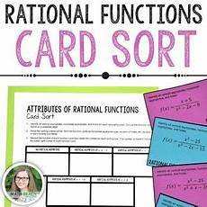 math worksheets sorting by attributes 7753 attributes of rational functions card sort activity rational function sorting cards math sort