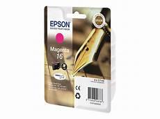 cartouche epson 16 epson 16 stylo plume magenta cartouche d encre