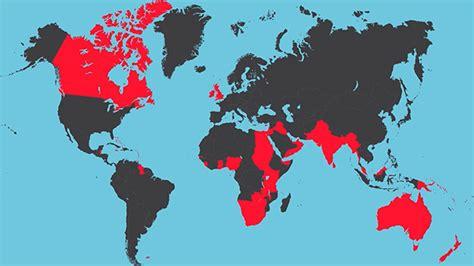 British Empire At Its Peak
