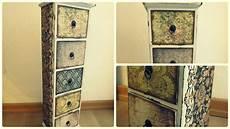 Möbel Vintage Look Selber Machen - m 246 bel umgestalten vintage holzschr 228 nkchen