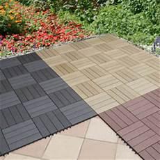terrassenplatten wpc everfloor wpc bambusholz kunststoff terrassenfliesen