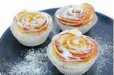 apfelrosen muffins einfach so h 252 bsch veganblatt