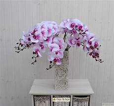 fiori artificiali real touch fiore artificiale phalaenopsis real touch fucsia
