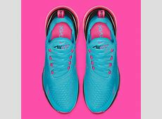 Nike Air Max 270 Pink   Blue BV6078 400 Release Info