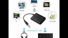 bluetooth transmitter tv test bluetooth receiver transmitter for pc and tv review