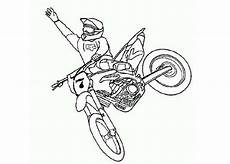 Malvorlagen Cycle Dirt Bike Dirt Bike Rider Jump High Coloring Page Cycles