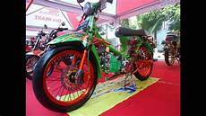 C70 Mesin Fu by Modifikasi Honda C70 Kontes Mesin Satria Fu Racing Look