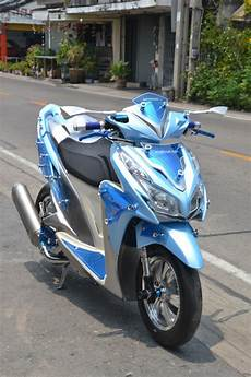 Modif Stiker Vario 125 by Modifikasi Honda Click 125 Vario 125 By Likit Racing