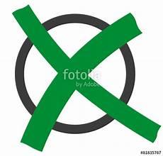 quot kreis mit kreuz gr 252 n quot stock image and royalty free