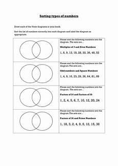 factors multiples primes into venn diagrams by ceejaypee teaching resources