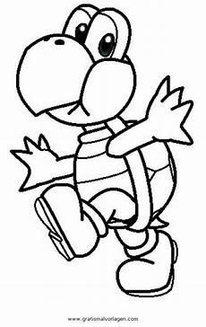 Malvorlagen Mario Quest Koopa 3 Gratis Malvorlage In Comic Trickfilmfiguren