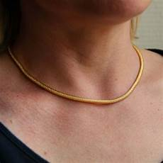 collier en or maille serpent chaine or occasion