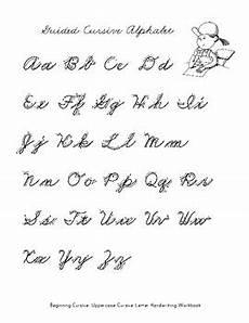 beginning cursive handwriting worksheets 21981 beginning cursive uppercase cursive letter handwriting practice workbook
