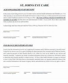 8 doctor receipt templates