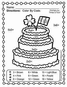 multiplication coloring worksheets for 3rd grade 4962 color by numbers st s day math multiplication multiplication facts multiplication