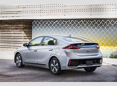 2017 Hyundai Ioniq Hybrid, Plug In Hybrid, Electric Revealed