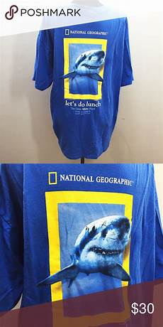 men s size xl national geographic shark t shirt men s national geographic shark t shirt size xl