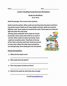 poetry comprehension worksheets year 2 25389 seeds on move second grade reading worksheets with images reading comprehension worksheets