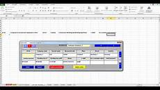 create databases in excel from a input mask with assignment of data types youtube