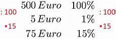 prozentwert berechnen formel und definition