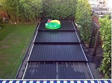 pool terrasse bauen pool abdeckung holz