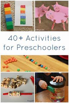 40 activities for preschoolers frugal fun for and
