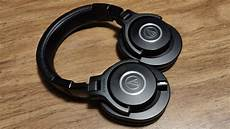 audio technica ath m40x sound review youtube