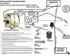 db electrical akt0001 ford 8n 2n 9n tractor alternator for generator conversion