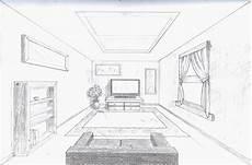 Fluchtpunkt Zeichnen Zimmer - single point perspective room by a rob on deviantart
