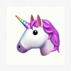 Emoji Malvorlagen Unicorn Quot Unicorn Emoji Sticker Quot Print By Emojiqueen Redbubble
