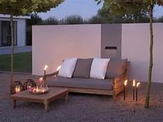 Lounge Sofa Outdoor Günstig - kawan xl lounge garten sofa 3 sitzer teak recycled garten