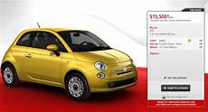 fiat prices american 500 from 15 500 carscoops