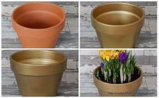 rustic glam painted terracotta pot rizzo